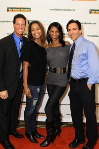 "Vicki and ABC's Secret Millionaire James Malinchak & Dr. Dorfman from ""The Doctors"" in LA at Millionaire Secrets Event"